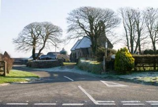 Entrance to Llantood Farm Holiday Cottages